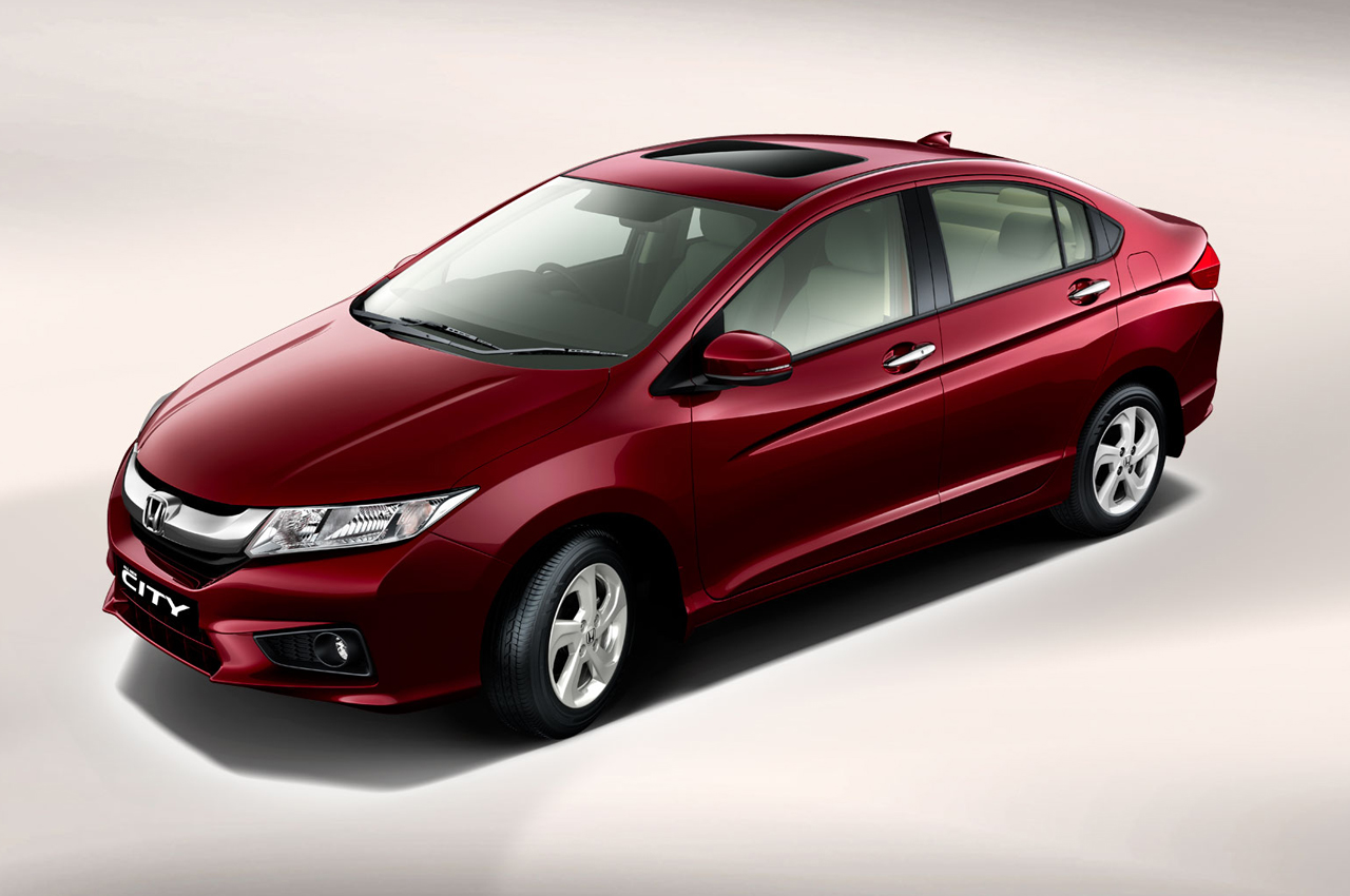 New 2014 Honda City Photo Gallery