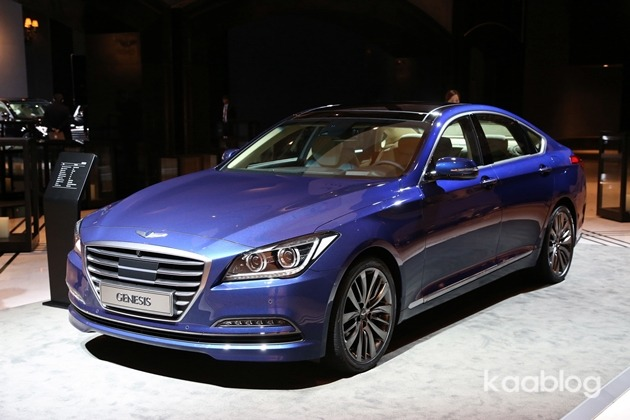 New Hyundai Genesis saloon photo gallery  Autocar India