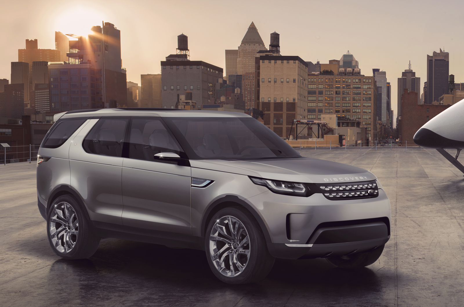 new land rover discovery suv vision concept photo gallery autocar india. Black Bedroom Furniture Sets. Home Design Ideas