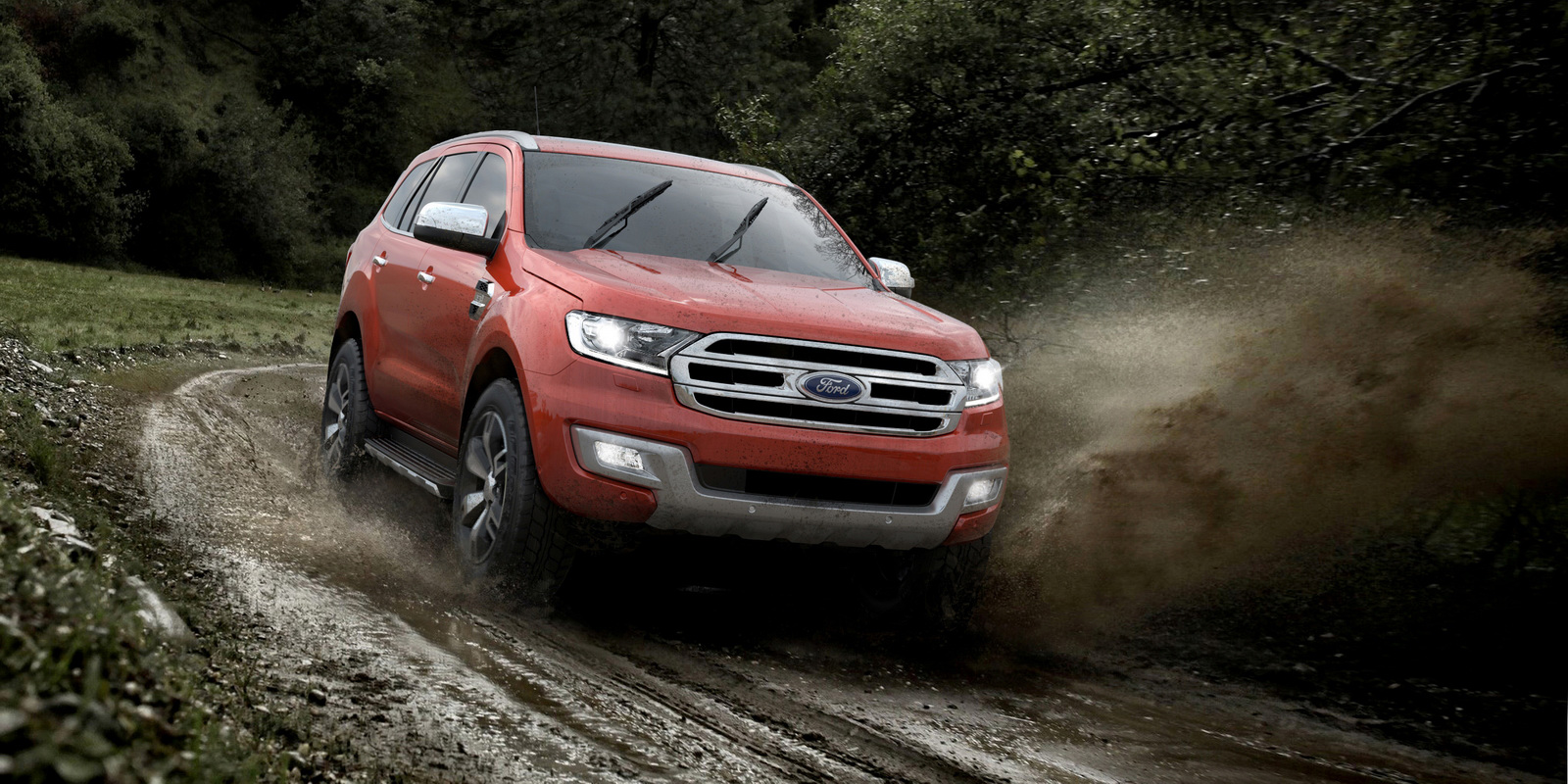 New Ford Endeavour Photo Gallery