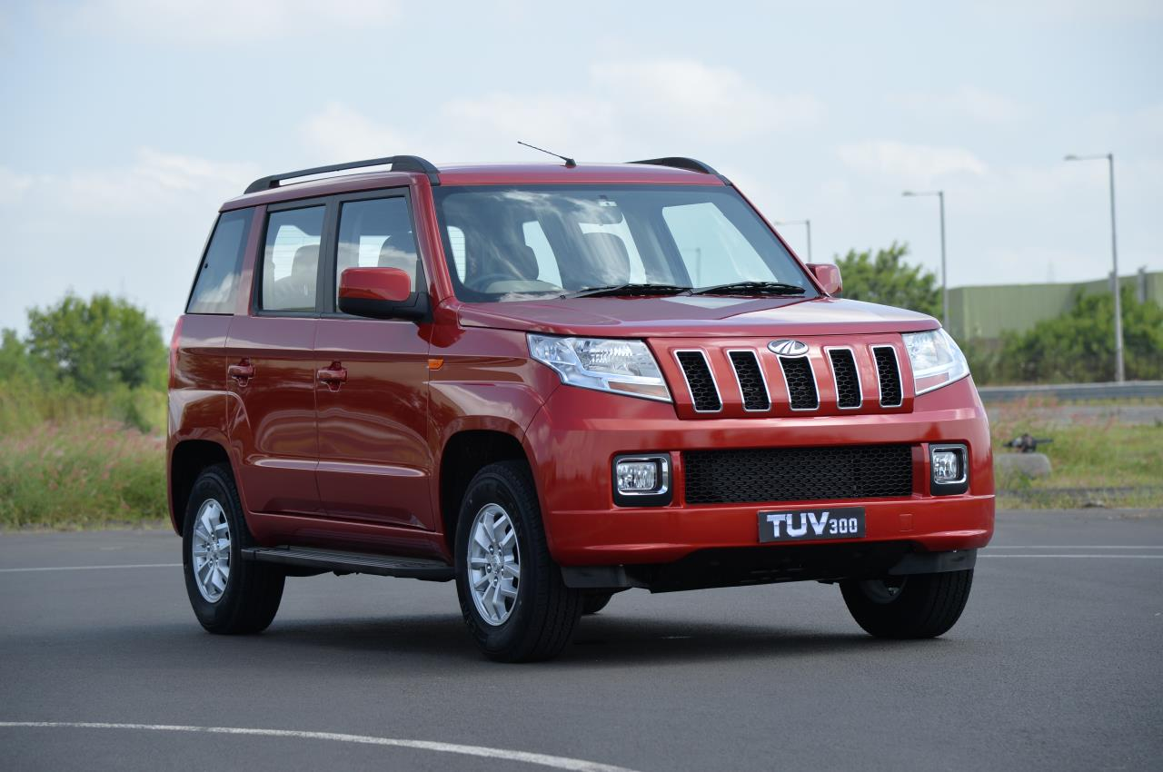 Mahindra Tuv300 Photo Gallery Autocar India