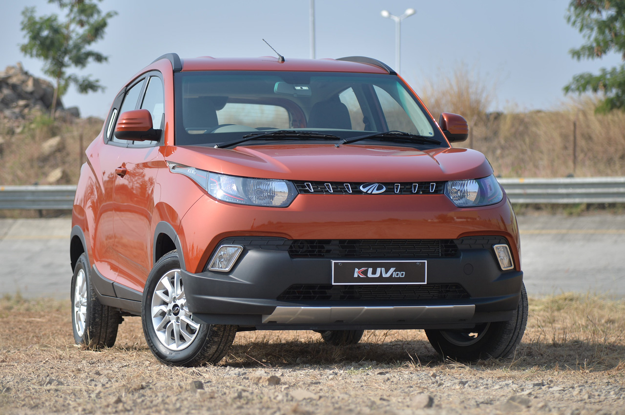 Mahindra Kuv100 Photo Gallery Autocar India