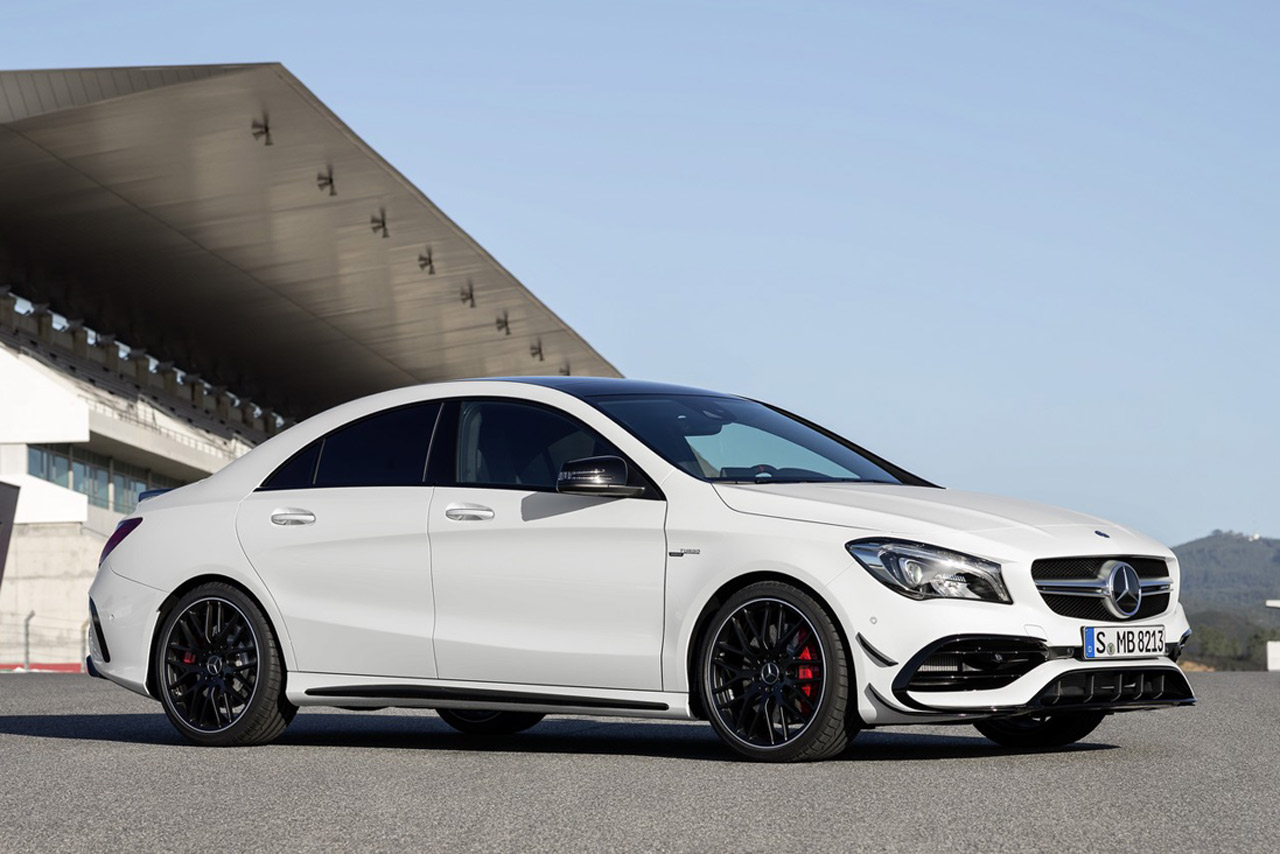mercedes cla facelift photo gallery autocar india. Black Bedroom Furniture Sets. Home Design Ideas
