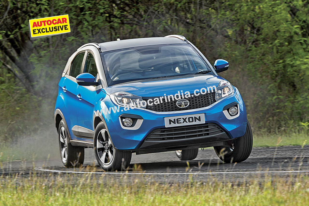 now nearing production the nexon retains much of the styling of the