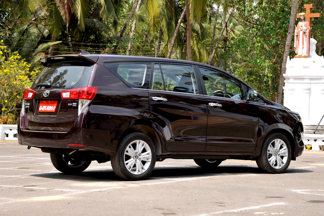 toyota innova crysta photo gallery - autocar india