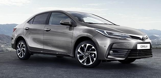 2017 Toyota Corolla Altis facelift images interior details