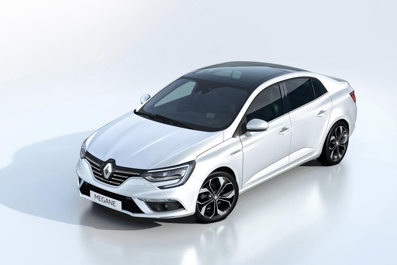Renault Megane Sedan Photo Gallery