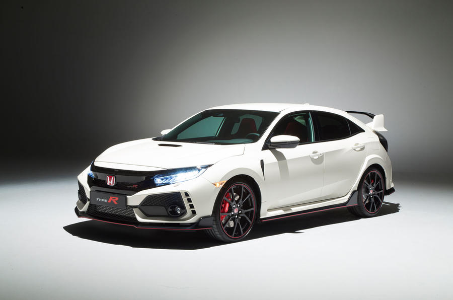 honda civic type r images from the geneva motor show 2017. Black Bedroom Furniture Sets. Home Design Ideas