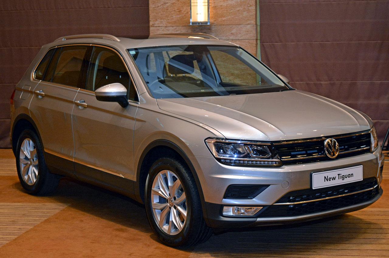 2017 Volkswagen Tiguan Images Interior Details Autocar India