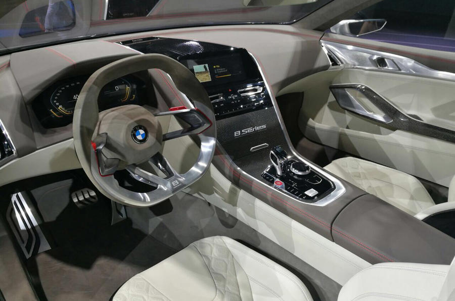 Bmw 8 Series Concept Images Interior Autocar India