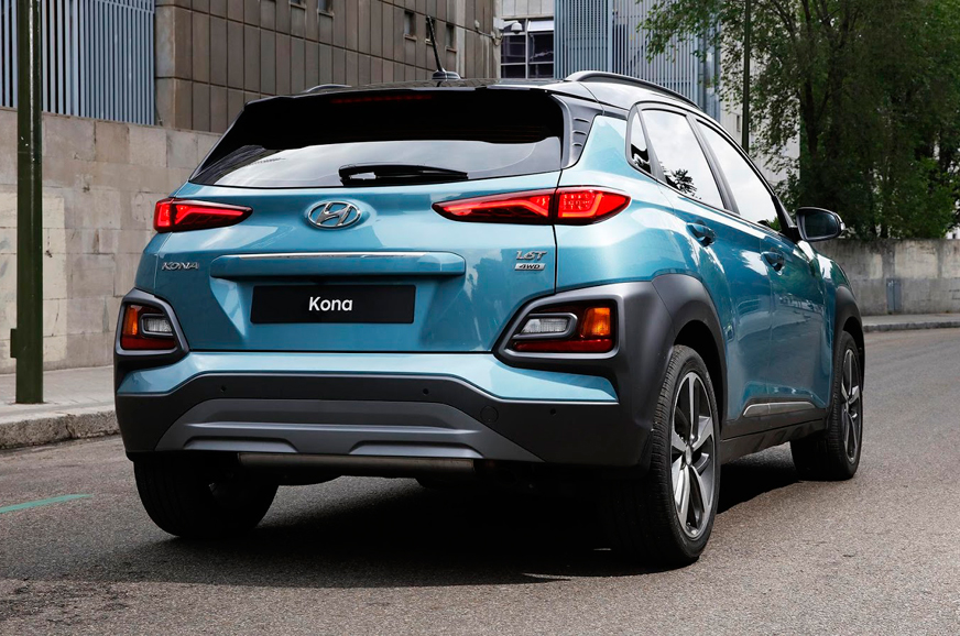 New Hyundai Kona Suv Exterior And Interior Images And More Autocar