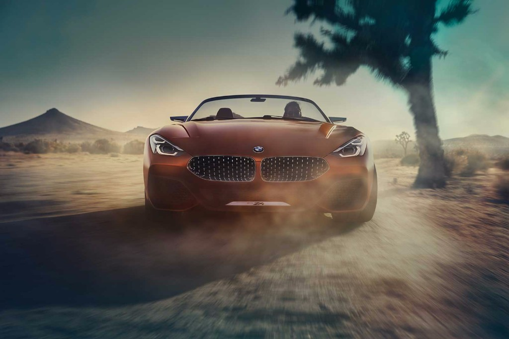 PhotoGallery: 2017 BMW Z4 concept image gallery
