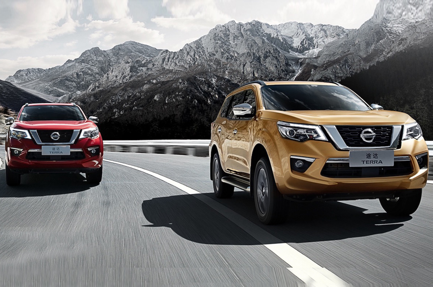 2018 Nissan Terra seven-seat SUV image gallery and ...