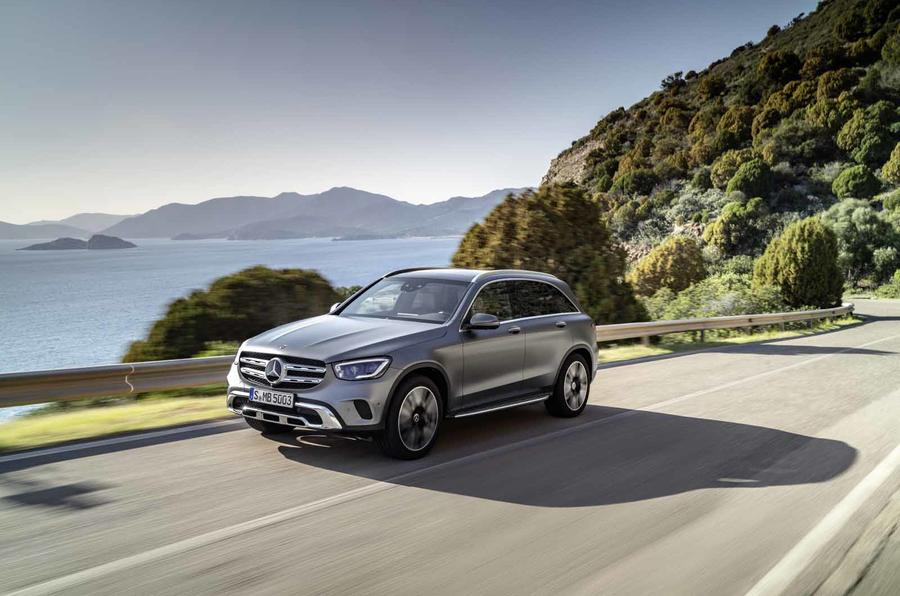 PhotoGallery: Mercedes-Benz GLC facelift image gallery