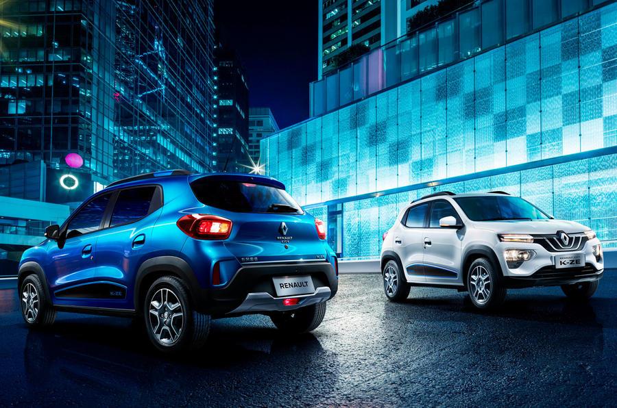 PhotoGallery: Renault City K-ZE image gallery