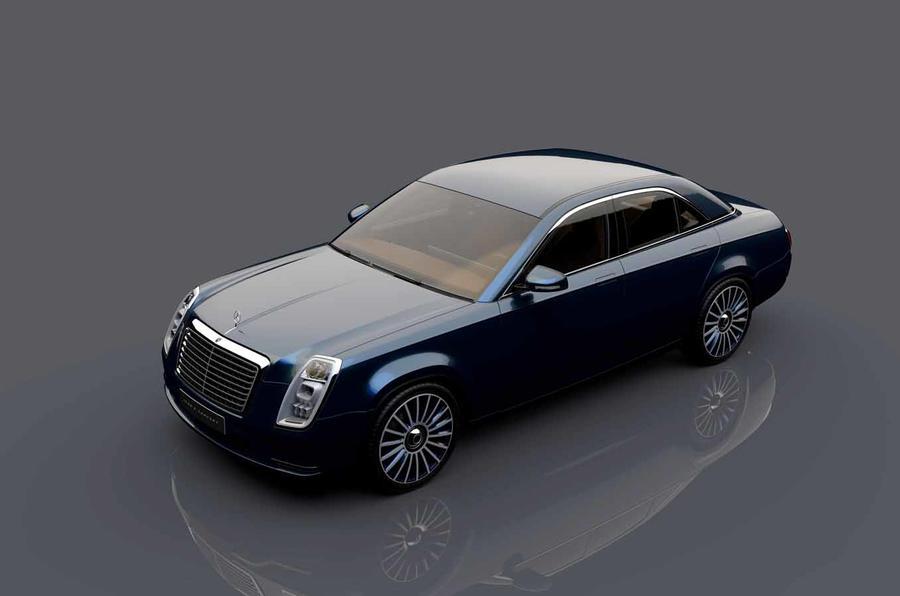 PhotoGallery: Mercedes-Benz Icon E Concept sedan image gallery