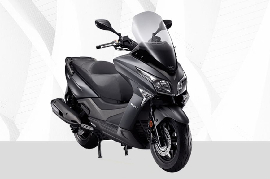 kymco  town  scooter image gallery autocar india