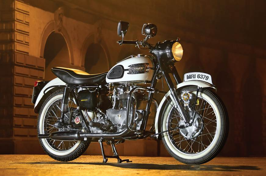 The White Tiger 1957 Triumph Tiger T110 Ride Experience Feature