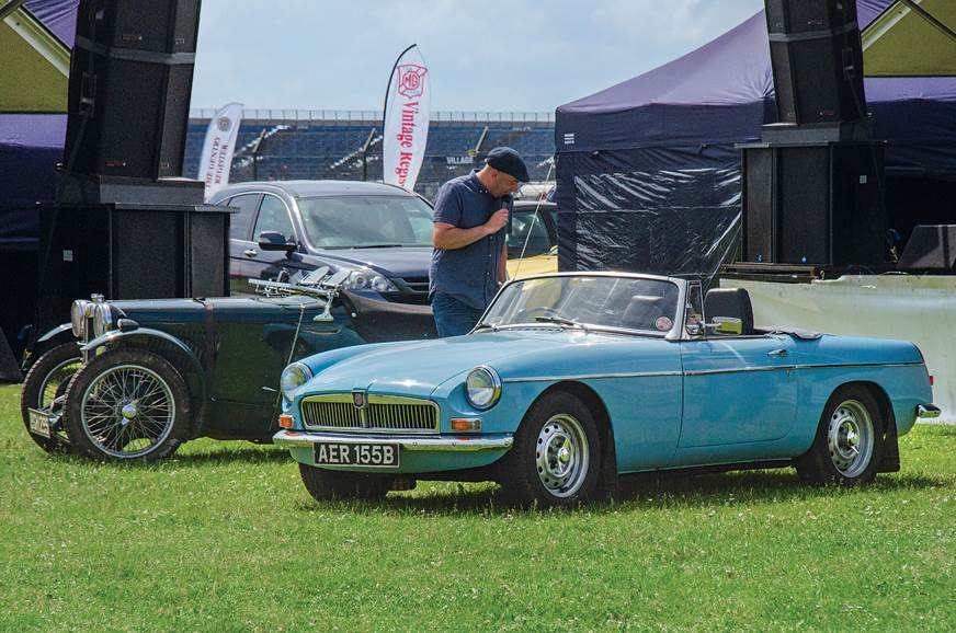 2018 MG Live classic car meet - Feature - Autocar India