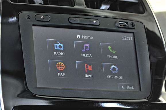 An analysis of car touchscreen infotainment systems - Feature
