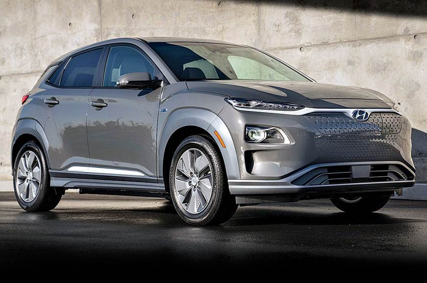 Hyundai S First All Electric Offering The Kona Ev Will Go On In India 2019 Styling Is Similar To Regular But This Has A