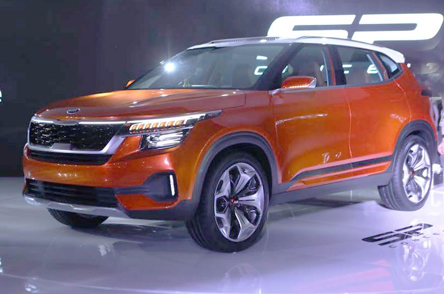 Take A Close Look At The Sp Concept Because This Is Best Pointer Yet Of Korean Carmaker S First Model For India That Will Go On In 2019