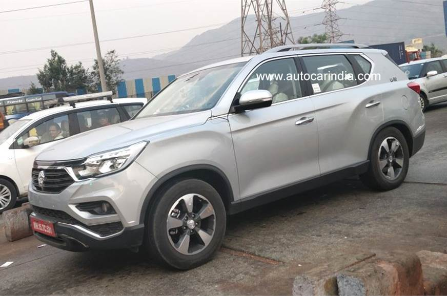 The Second Gen Rexton Has Already Been Spied On Test In India Post Its Auto Expo 2018 Unveiling This Mahindra Suv Is Likely To Hit Showrooms Sometime