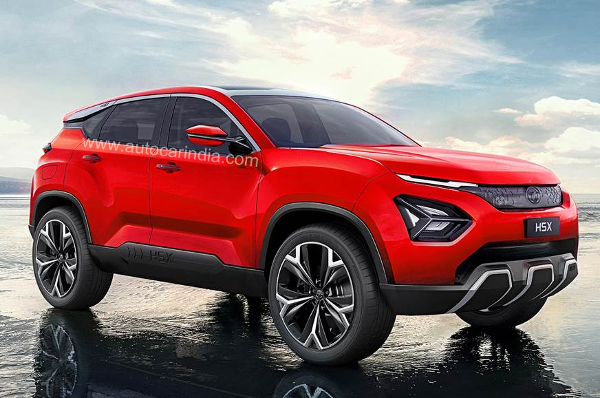 Tata Took The Wraps Off Stunning H5x Suv Concept At Auto Expo 2018 Earlier This Year Since Then Prototypes Of New Have Been Seen Multiple
