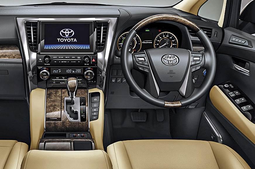 Luxury MPVs like the Toyota Vellfire and Kia Carnival will