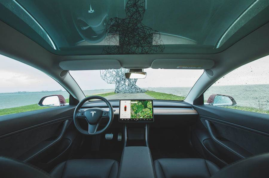 450hp Tesla Model 3 Performance driven - Autocar India
