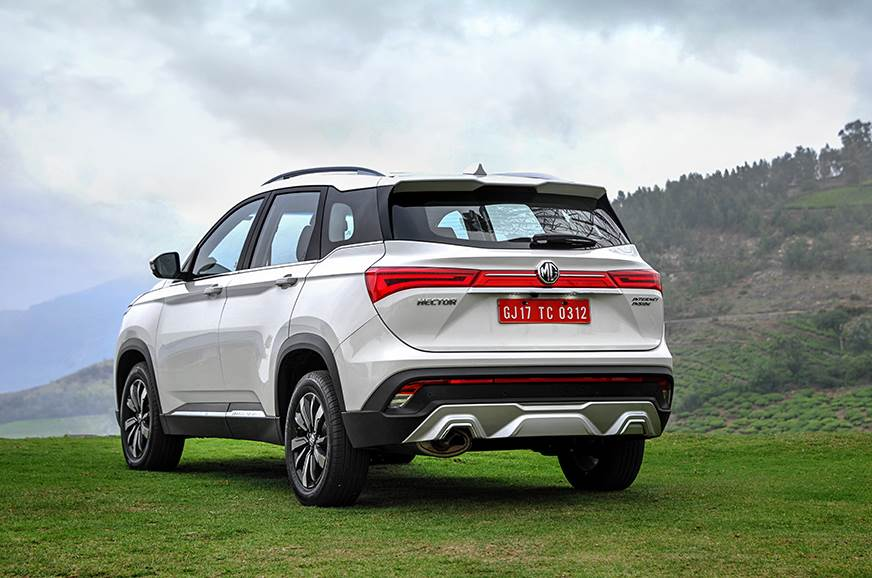 MG Hector rear static