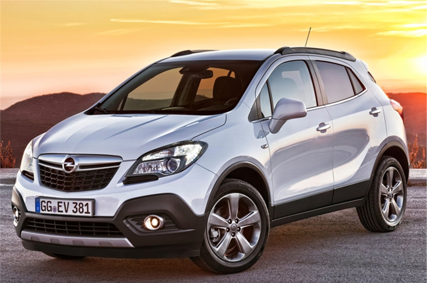 Opel Mokka is a badge engineered version of the Trax.