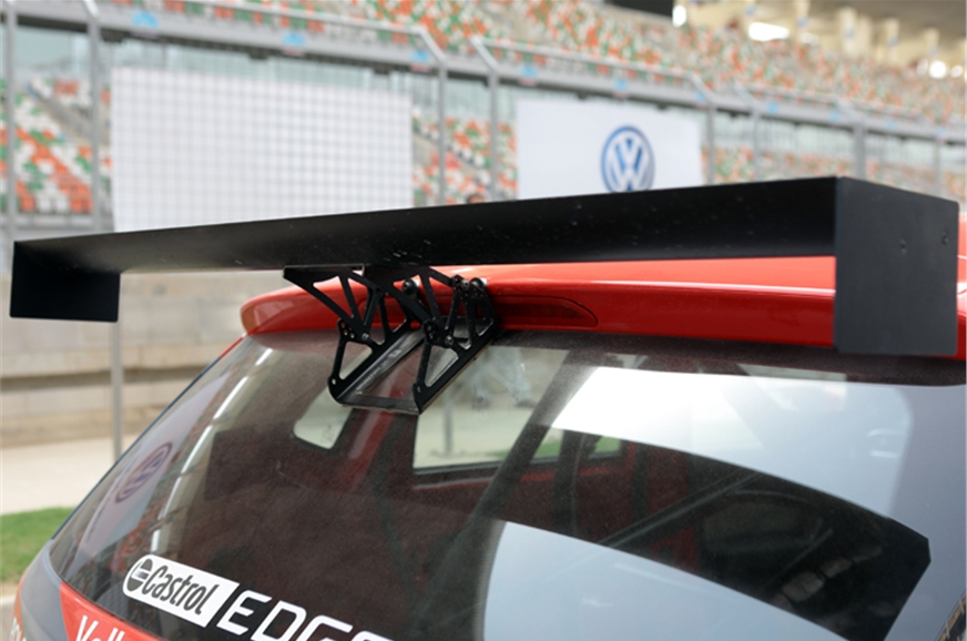 Rear wing is new but whether it contributes to the car's ...