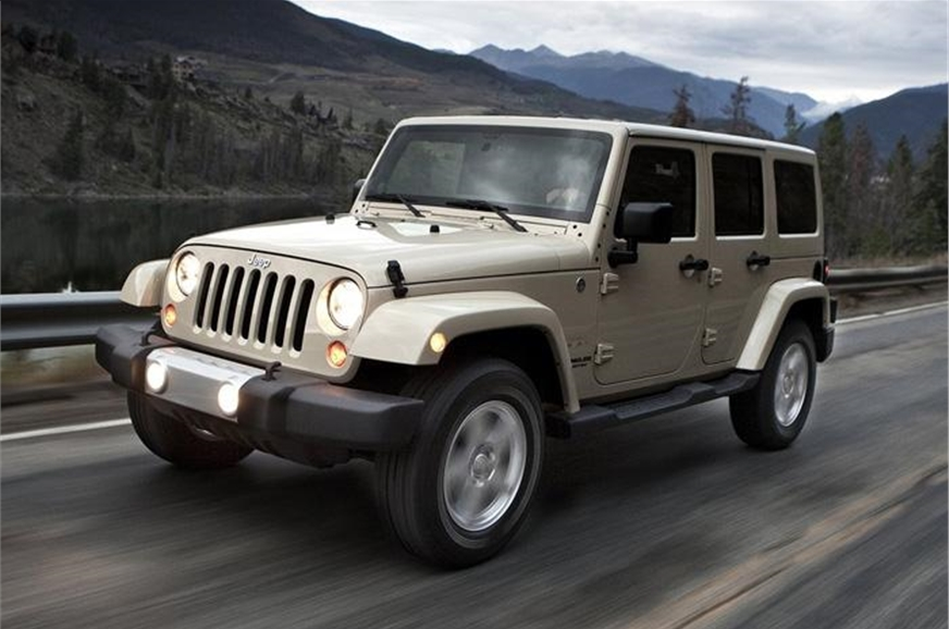 Jeep will bring the four-door Wrangler to India.