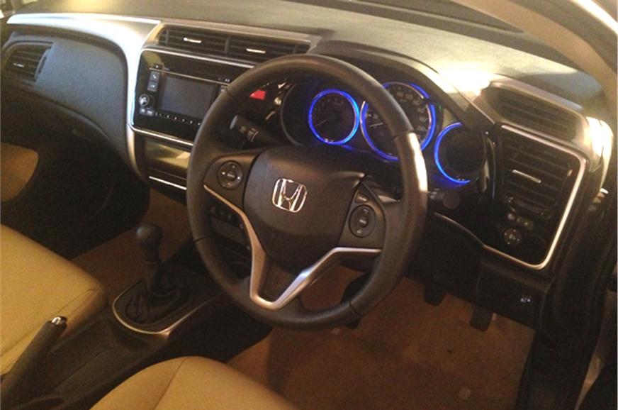 New Honda City dashboard