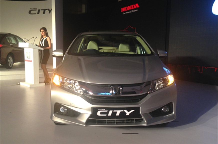 New Honda City front