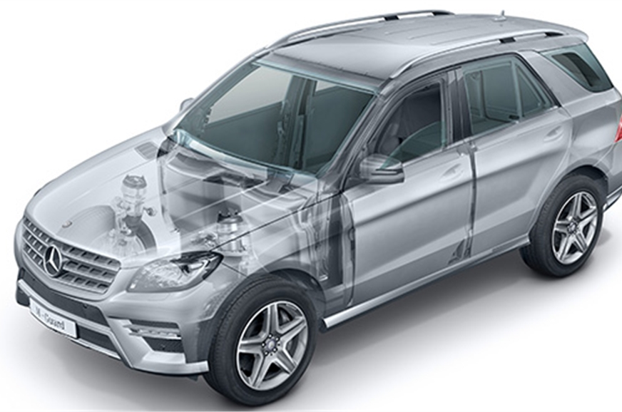 Mercedes M Guard will also be present at the Auto Expo.
