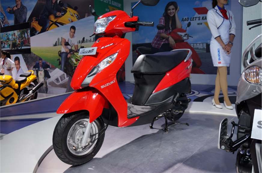 Let's gets Suzuki design traits similar to the Access and...