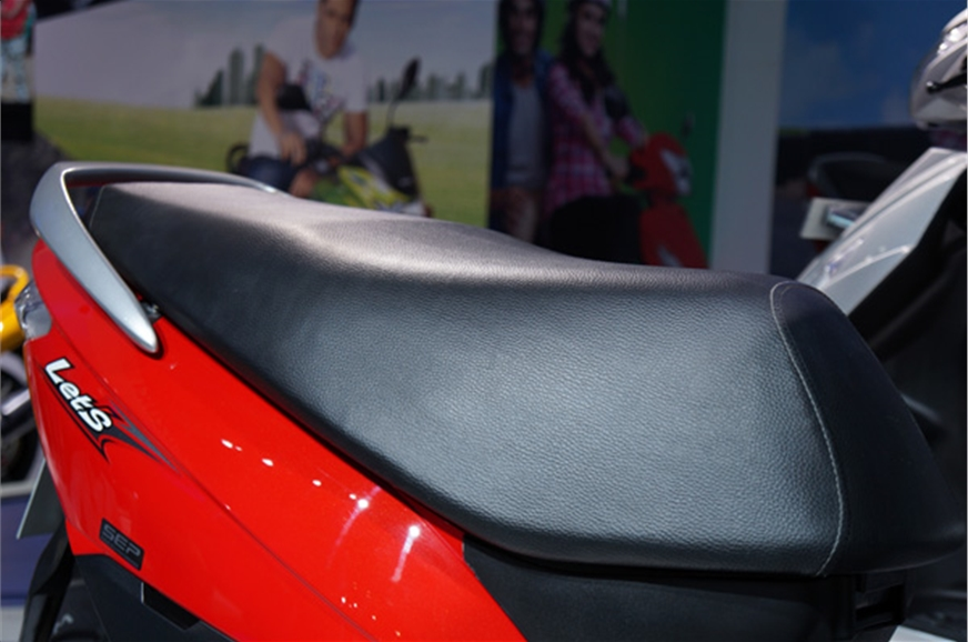 The wide seat provided would offer comfort similar to its...