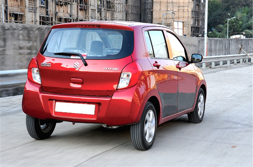 The Celerio has good high-speed stability and the suspens...