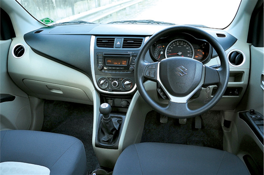 The dash-mounted gear lever is well placed and easy to re...
