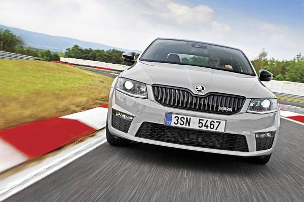 Skoda Octavia RS 230 review, test drive