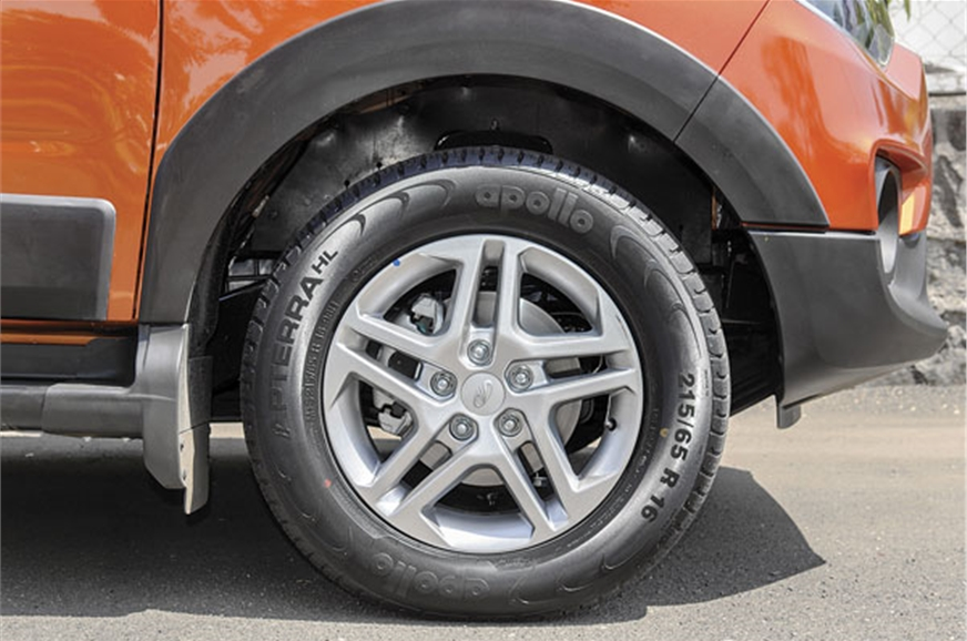 16-inch wheels are standard and look smart in top-spec wi...