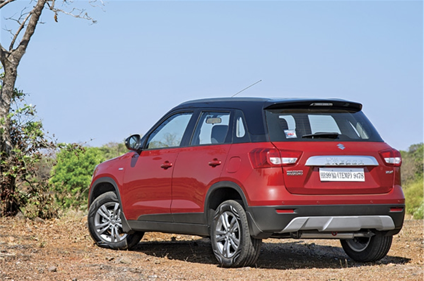 Vertical and upright stance, high ground clearance lend t...