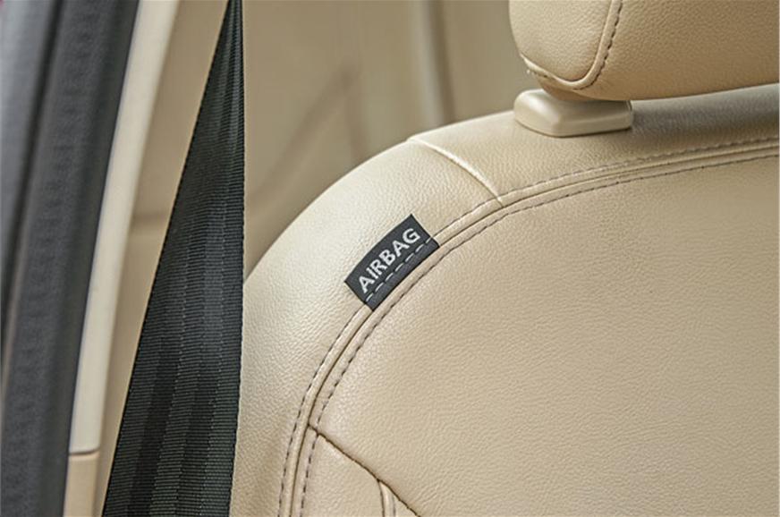 Top-spec Aspire Titanium+ gets a suite of six airbags.