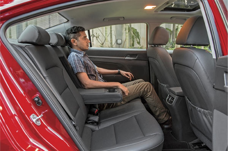 Low roof impedes ingaress a bit, but once seated, space a...