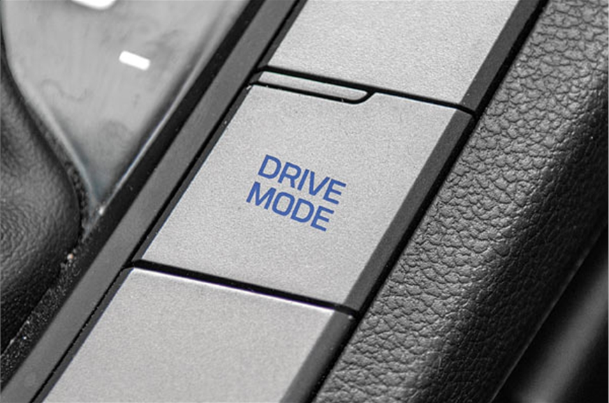 Eco, Normal and Comfort modes alter gear shift points; ex...