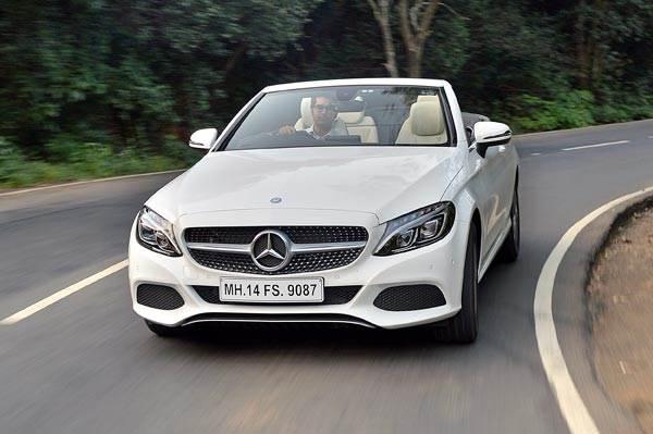 2016 Mercedes C 300 Cabriolet review, test drive