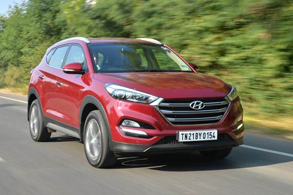 2016 Hyundai Tucson India review, test drive