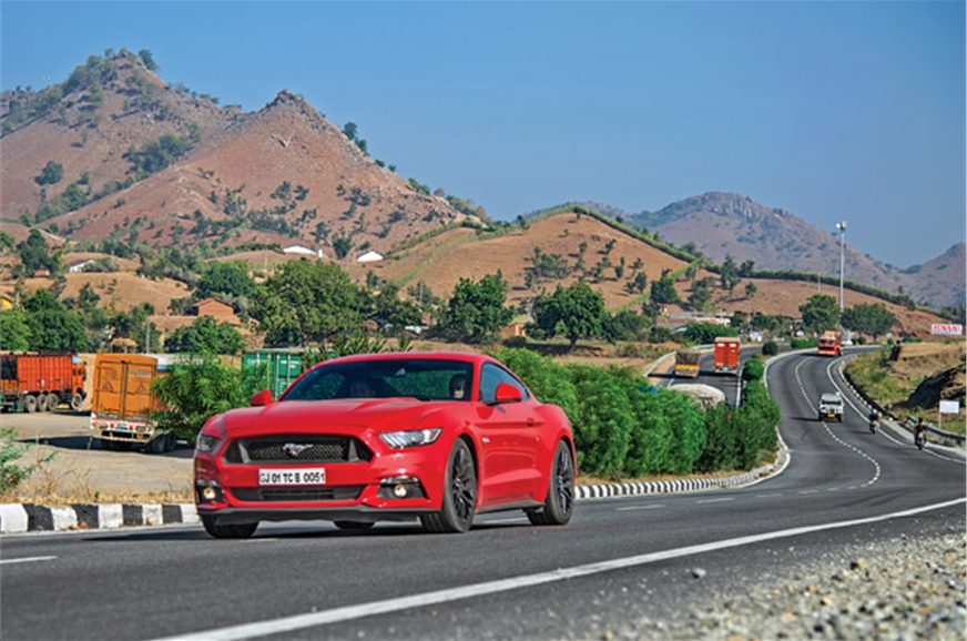 The Ford Mustang's 'GT' moniker is apt; it's absolutely s...